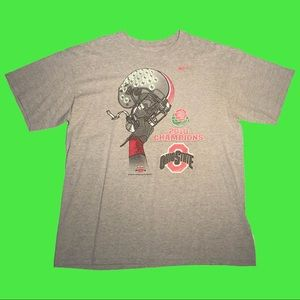 2010 Ohio State Buckeyes Nike Rose Bowl Tee
